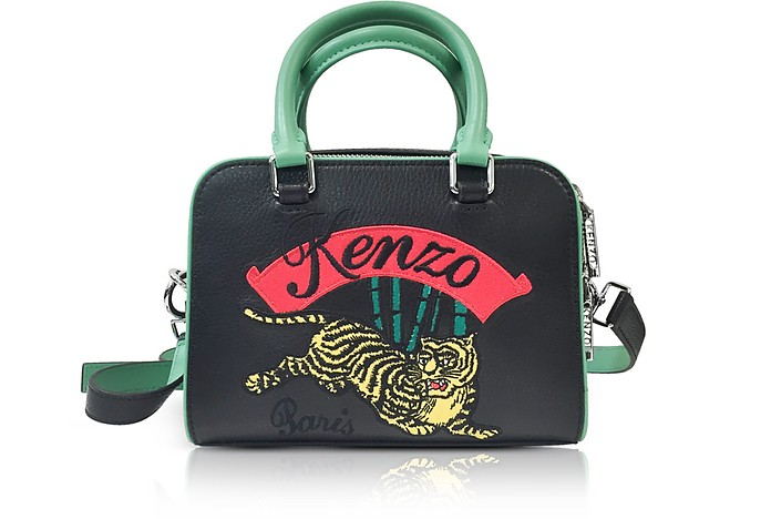 Jumping Tiger Small Crossbody Bag - Kenzo