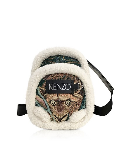 Tapestry Jacquard Memento Small Crossbody Bag - Kenzo