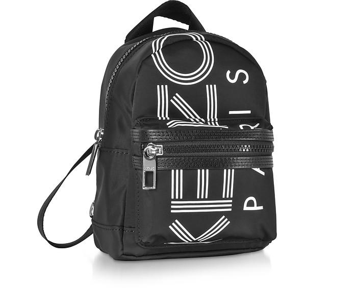 106be31e82b16 Kenzo Black Kenzo Sport Mini Logo Backpack at FORZIERI