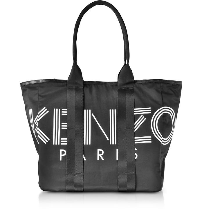 Kenzo Sport Black Nylon Tote Bag - Kenzo