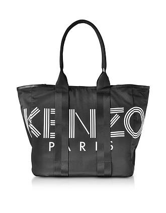 Kenzo Sport Black Nylon Tote Bag - Kenzo 6d9402536bb4