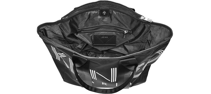 e77bd544 Kenzo Kenzo Sport Black Nylon Tote Bag