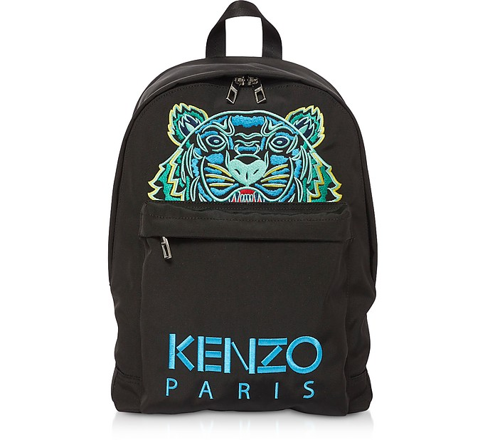 Black Large Tiger Kanvas Backpack - Kenzo