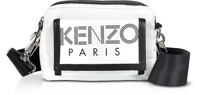Kenzo Sport Sac à Bandoulière en Nylon Noir - Kenzo