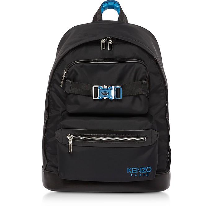 Link Nylon Signature Backpack - Kenzo