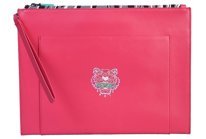 Leather Tiger Pouch - Kenzo
