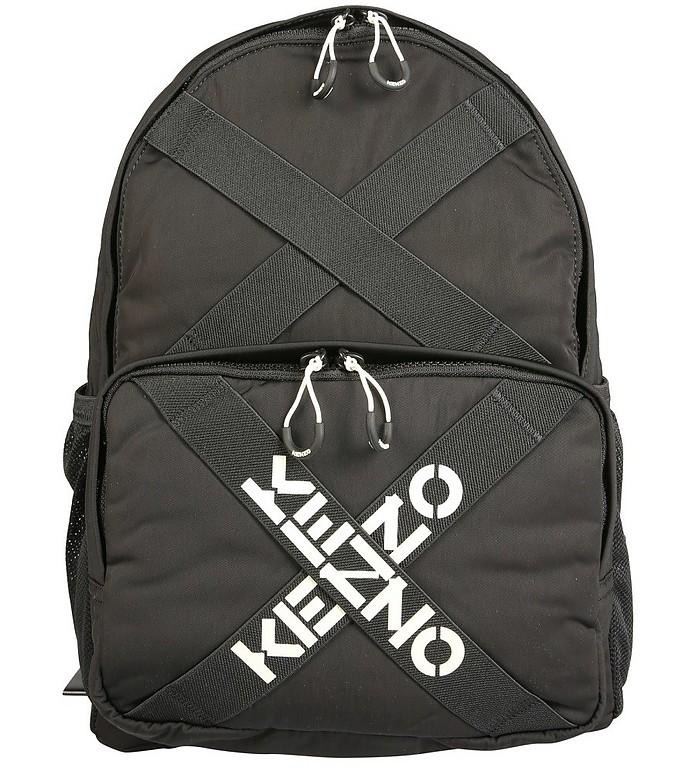 Black Backpack With Logo - KENZO / ケンゾー