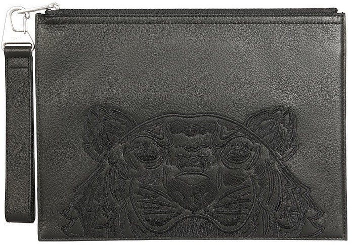 Large Pouch With Logo - Kenzo