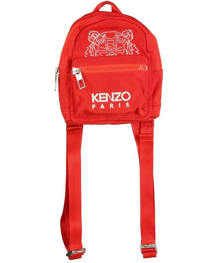 Mini Backpack With Tiger Logo - Kenzo