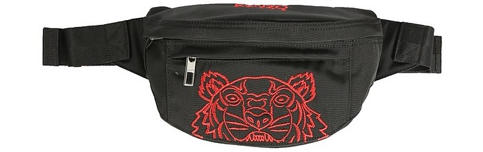 Belt Bag With Embroidered Tiger - Kenzo