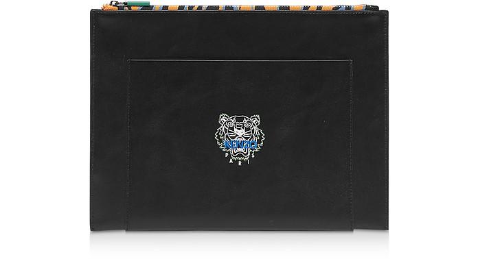 KENZO Tiny Tiger Leather Clutch - Kenzo