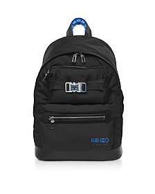 Kenzo Eye Black Backpack