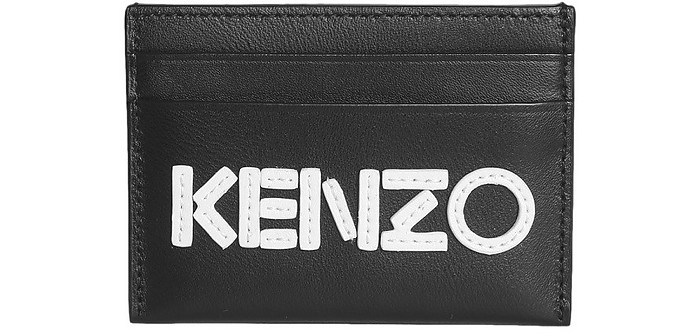 Leather Card Holder - Kenzo
