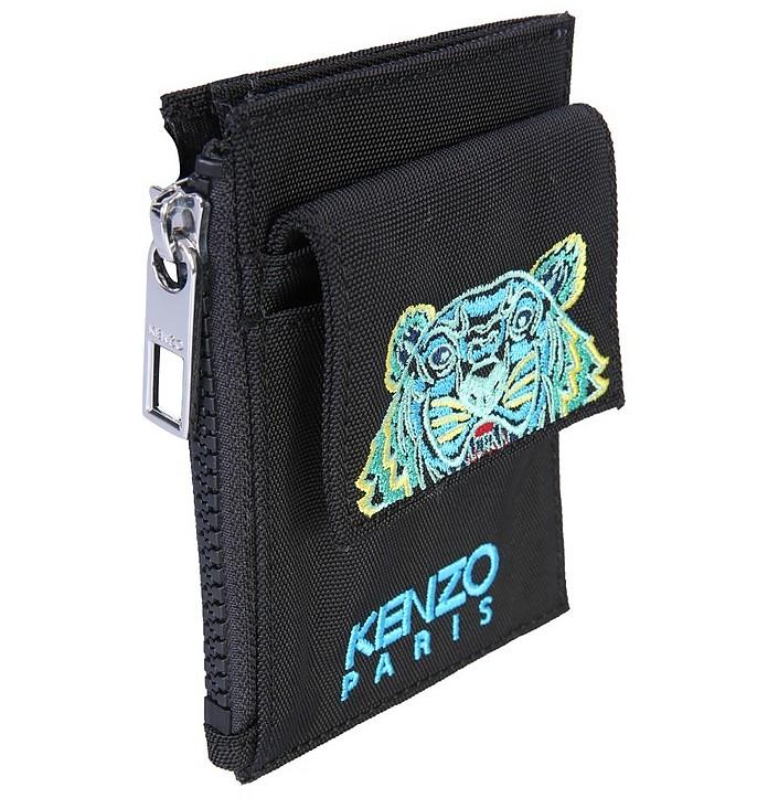Logo Wallet With Shoulder Strap - Kenzo