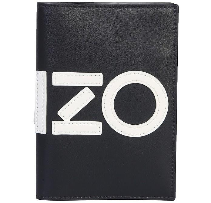 Leather Passport Holder - Kenzo