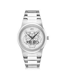 Silver Tiger Watch