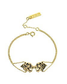 Gold Plated Tassel Tiger Bracelet - Kenzo