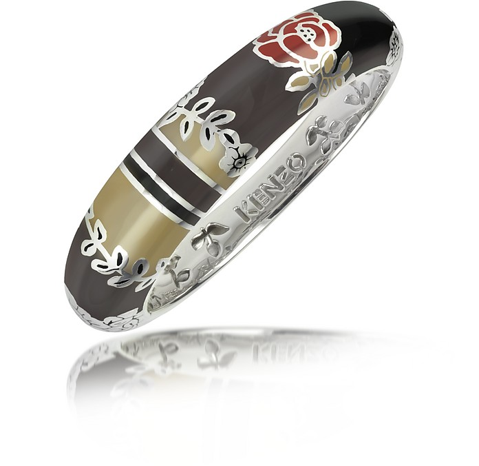 Fedora - Sterling Silver Bangle Bracelet - Kenzo