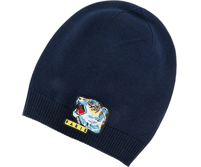 Kenzo Kenzo Iconic Tiger Wool Beanie at FORZIERI 76e6d5fa4d2