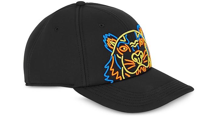 Kenzo Tiger Black Canvas Hat - Kenzo