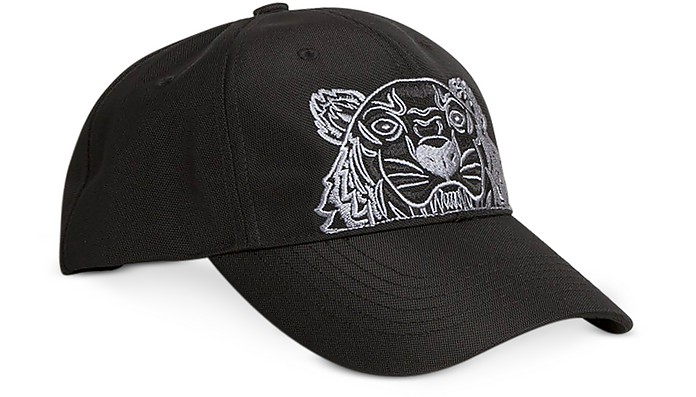 Kenzo Tiger Cappello da Baseball Nero - Kenzo