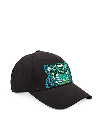 f321cd71da3 Kenzo. Kenzo Tiger Black   Blue Canvas Hat…