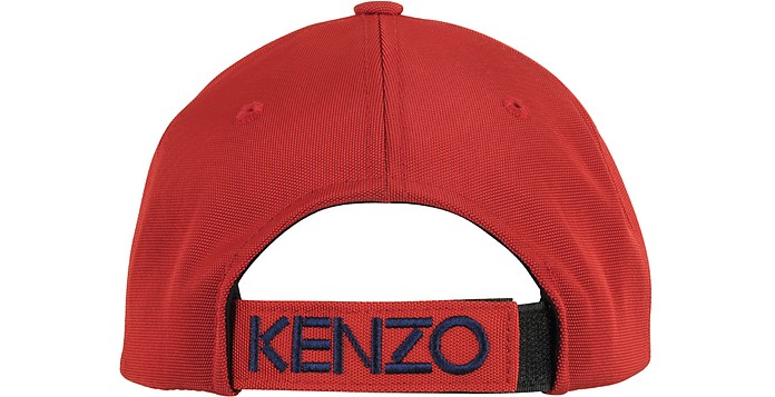 02360295a57 Kenzo Red Tiger Canvas Baseball Cap at FORZIERI UK