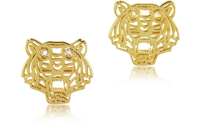 Mini Tiger Earrings - Kenzo