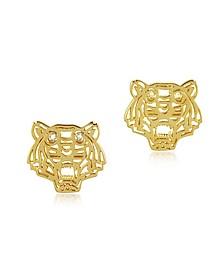 Mini Tiger Earrings - Kenzo