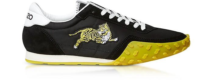 6cd9e5f5 Kenzo Memento Black Nylon and Suede Kenzo Move Women's Sneakers 35 ...
