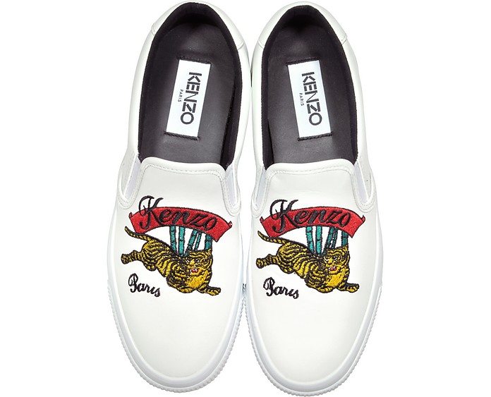 K-Skate Jumping Tiger Slip on Sneakers - Kenzo