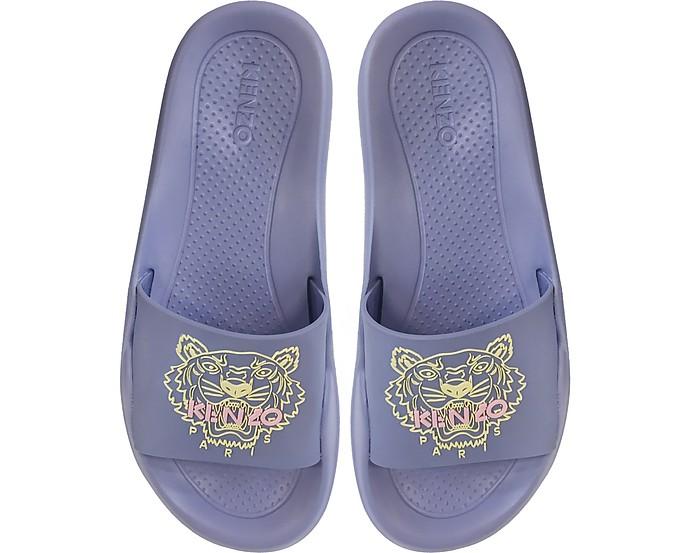 Wisteria Tiger Women's Flat Sandals - Kenzo