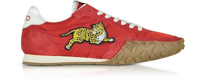 Move Red Nylon Memento Sneakers - Kenzo