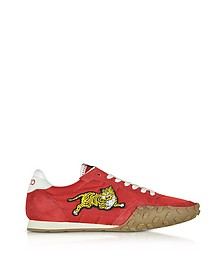Move Red Nylon Memento Sneakers - Kenzo