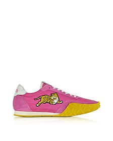 Move Fuchsia Nylon Memento Sneakers - Kenzo