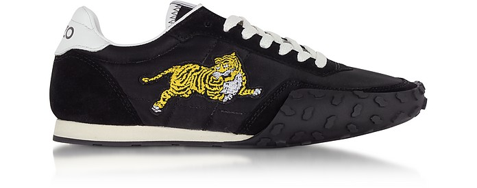 Move Black Nylon Memento Sneakers - Kenzo