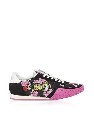 3dfe0b18fdc Black and Fuchsia Kenzo Move Women's Sneakers - Kenzo