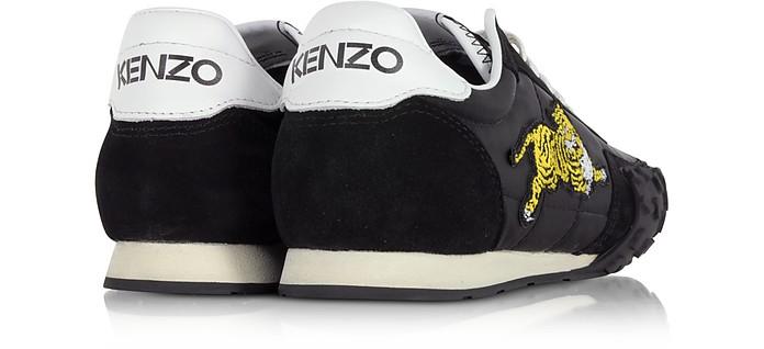 Kenzo Move Sneakers da Uomo in Nylon e Suede Nero Kenzo 39 BWluaHDn