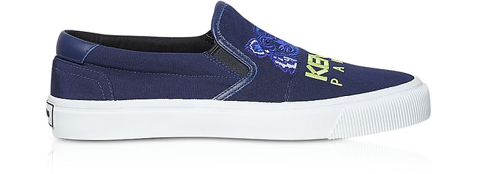 K-Skate Tiger Canvas Sneakers - Kenzo
