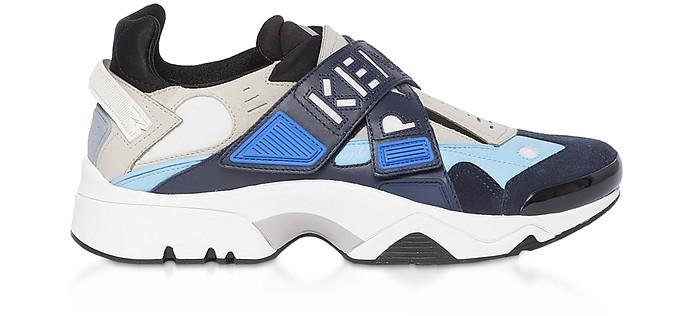 Cobalt Blue Sonic Low Top Men's Sneakers - Kenzo