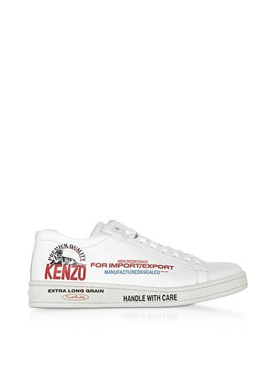 Red Low Top Men's Sneakers - Kenzo