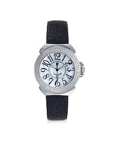 Pillola Galuchat Women's Watch w/Diamonds
