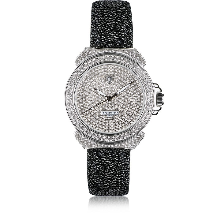 Pillola Deco' Women's Watch w/Diamonds - Lancaster