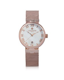 Chimaera Rose Gold Stainless Steel Watch - Lancaster