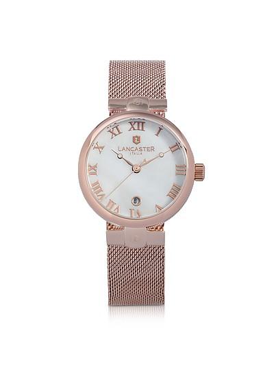 Chimaera Rose Gold Stainless Steel Watch - Lancaster