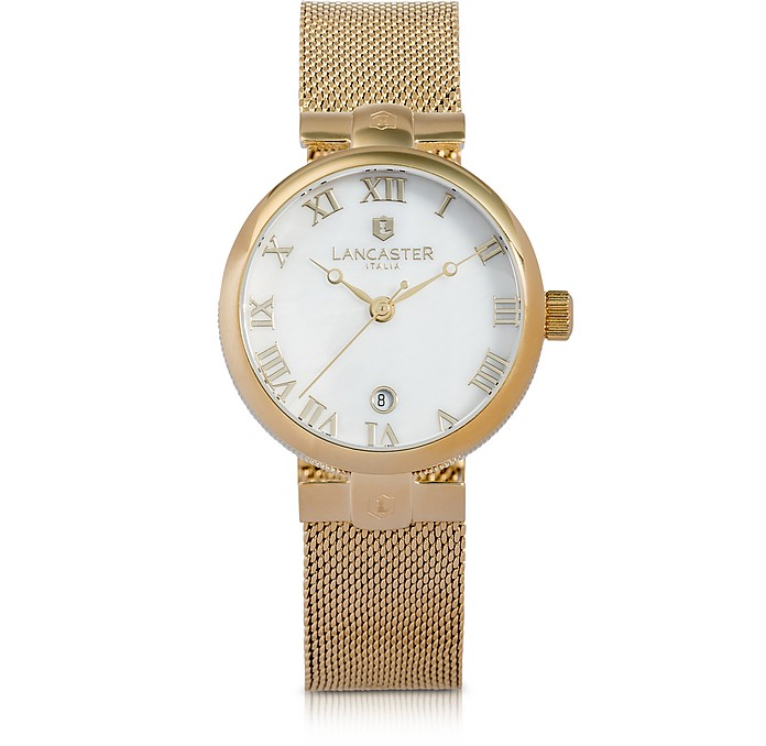Chimaera Yellow Gold Stainless Steel Watch - Lancaster