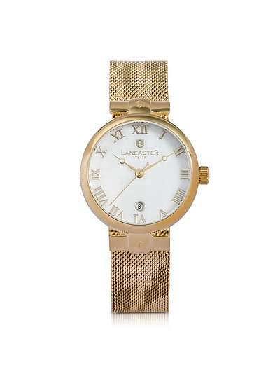 Chimaera Yellow Gold Stainless Steel Watch - Lancaster