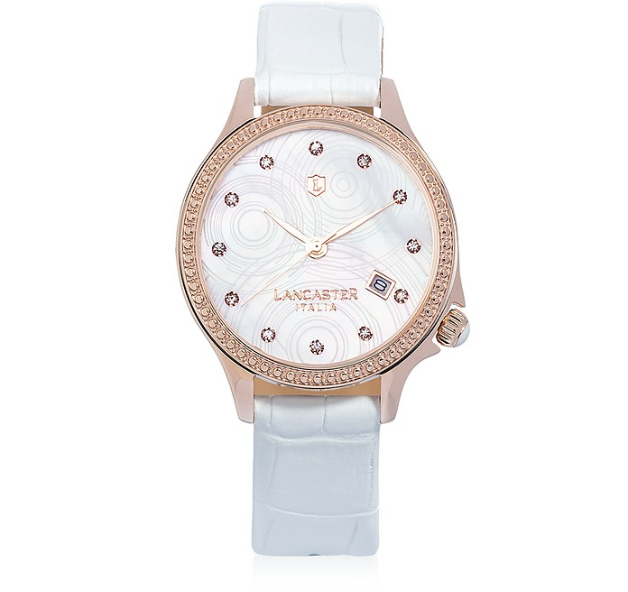 Goccia Rose Gold Stainless Steel Watch - Lancaster