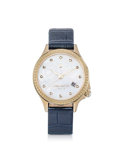 Goccia Gold Tone Stainless Steel Watch - Lancaster