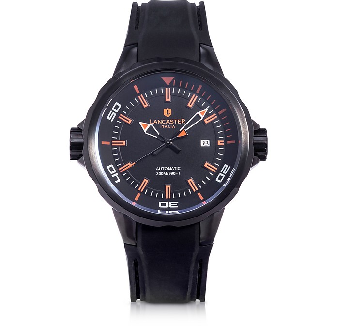 Space Shuttle Automatic Stainless Steel and Silicon Men's Watch - Lancaster